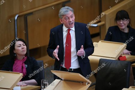 Scottish Parliament First Minister's Questions - Monica Lennon, Richard Leonard, Leader of the Scottish Labour Party and Mary Fee