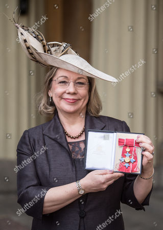 Stock Photo of Jennifer Price received an CBE