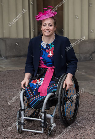 Rachel Morris received an MBE