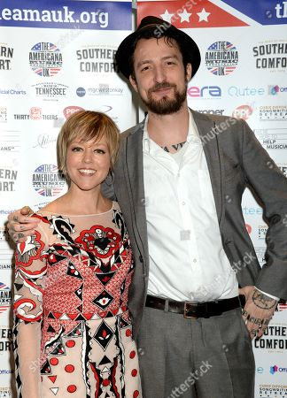 Stock Image of Emily Barker and Frank Turner