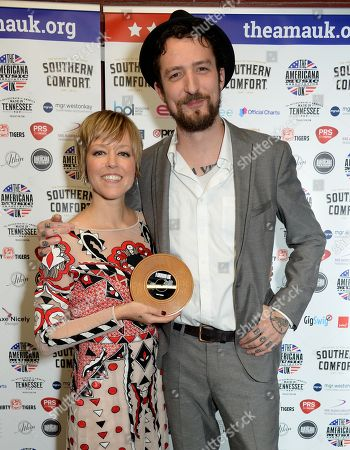 Editorial picture of UK Americana Awards, Press Room, Hackney Empire, London, UK - 01 Feb 2018
