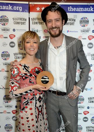 Editorial photo of UK Americana Awards, Press Room, Hackney Empire, London, UK - 01 Feb 2018