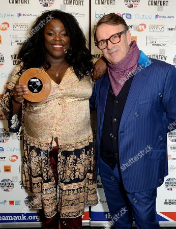 Yola Carter and Chris Difford