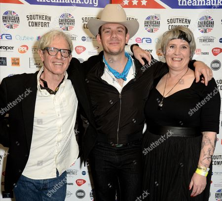 Stock Photo of Sam Baker, Sam Outlaw and Stevie Freeman