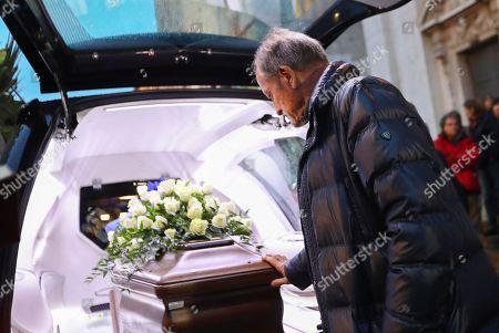 Editorial photo of Funeral of Italian soccer coach Azeglio Vicini in Brescia, Italy - 01 Feb 2018