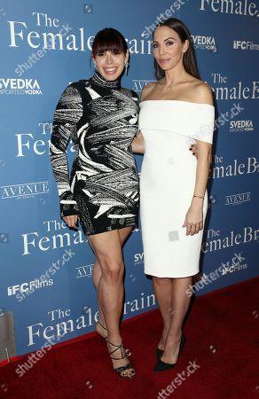 Erika Olde and Whitney Cummings