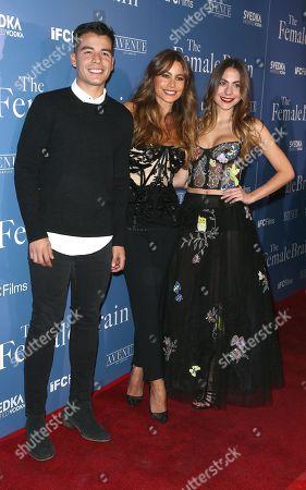 Manolo Vergara, Sofia Vergara and Paulina Char