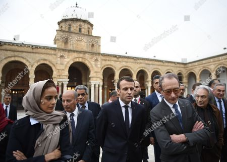 Editorial photo of French President Emmanuel Macron visit to Tunisia - 01 Feb 2018