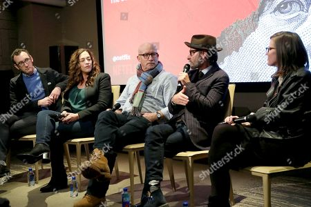 """Editorial image of NYC special screening and panel discussion of Netflix' """"Dirty Money"""", New York, USA - 31 Jan 2018"""