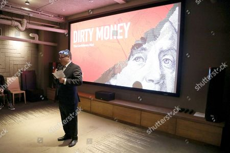 """Editorial picture of NYC special screening and panel discussion of Netflix' """"Dirty Money"""", New York, USA - 31 Jan 2018"""