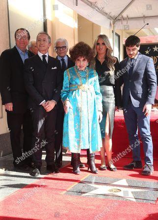 Gina Lollobrigida, Tiziana Rocca, Steven Gaydos, Antonio Verde, Roberto Stabile