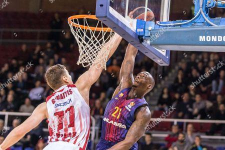 Editorial photo of FC Barcelona Lassa v AX Armani Exchange Olimpia Milan, EuroLeague, Barcelona, Spain - 01 Feb 2018