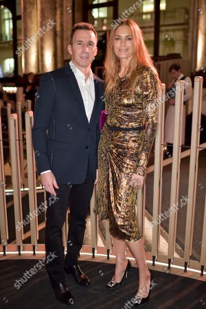 Stock Image of Harvey Spevak and Yasmin Le Bon