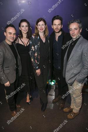 Joseph Balderrama (Jeff), Hayley Atwell (Jenny), Anna Ledwich (Director), Tom Riley (Seth) and Aidan McArdle (Rick)