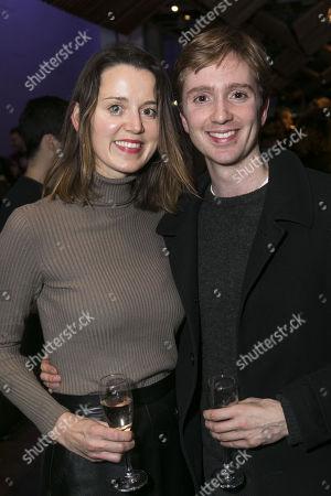 Emily Bevan and Luke Newberry
