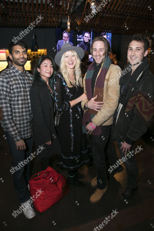 Editorial image of 'Dry Powder' party, After Party, London, UK - 01 Feb 2018