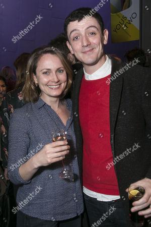 Anna Madeley and John Dagleish