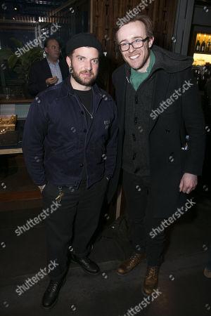 Jamie Lloyd and John Heffernan
