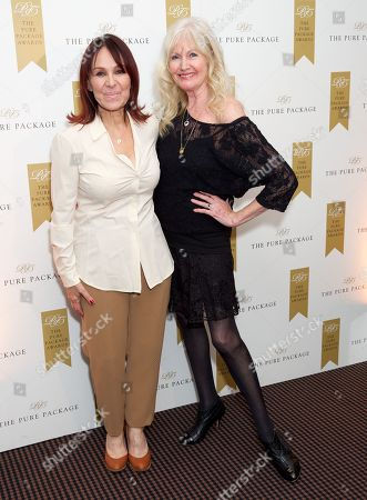Stock Photo of Arlene Phillips and Debbie Moore