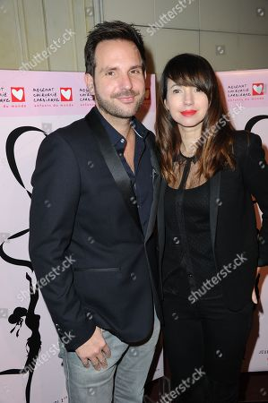 Christophe Michalak and Delphine McCarty