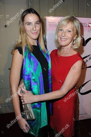 Elisa Servier and her daughter Manon de Toledo