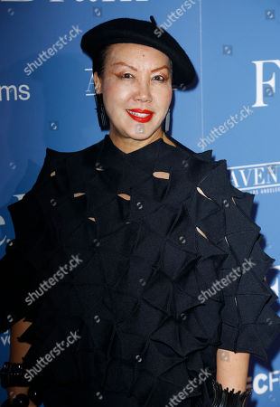 """Sue Wong arrives at the Los Angeles premiere of """"The Female Brain"""" at ArcLight Hollywood on"""