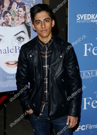 "Karan Brar arrives at the Los Angeles premiere of ""The Female Brain"" at ArcLight Hollywood on"