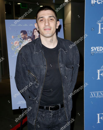 "Andrew Schulz arrives at the Los Angeles premiere of ""The Female Brain"" at ArcLight Hollywood on"