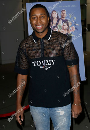 """Stock Image of Ty Hickson arrives at the Los Angeles premiere of """"The Female Brain"""" at ArcLight Hollywood on"""