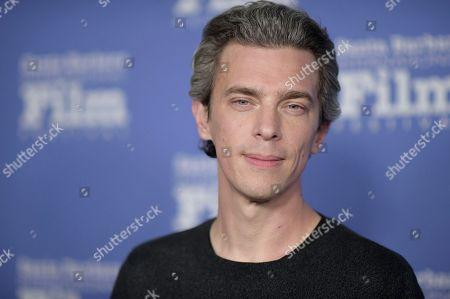 Josh Boone attends the 2018 Santa Barbara International Film Festival Cinema Vanguard Award ceremony at the Arlington Theatre, in Santa Barbara, Calif