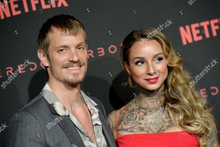 Stock Picture of Joel Kinnaman and Cleo Wattenstrom