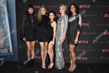 Tamara Taylor, Dichen Lachman, Martha Higareda, Kristin Lehman and Renee Elise Goldsberry