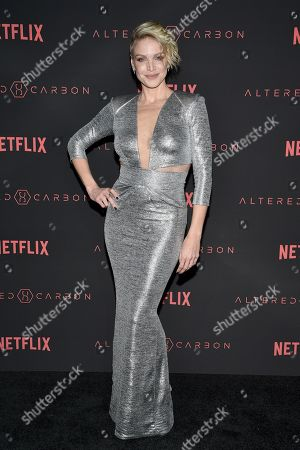 Editorial picture of 'Altered Carbon' TV show premiere, Arrivals, Los Angeles, USA - 01 Feb 2018