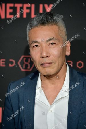 Editorial photo of 'Altered Carbon' TV show premiere, Arrivals, Los Angeles, USA - 01 Feb 2018