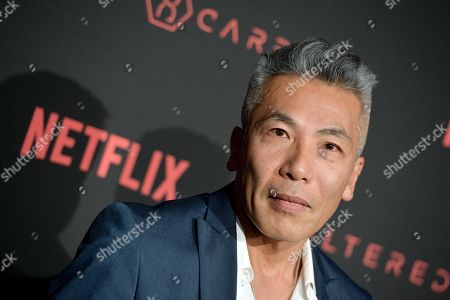 Editorial image of 'Altered Carbon' TV show premiere, Arrivals, Los Angeles, USA - 01 Feb 2018