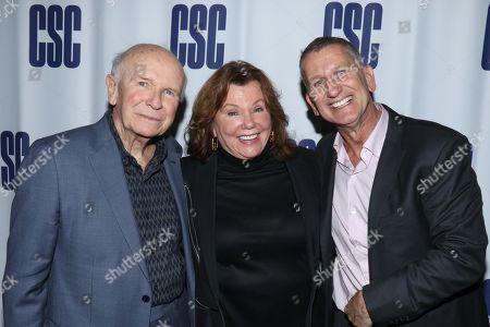 Terrence McNally, Marsha Mason and Tom Kirdahy