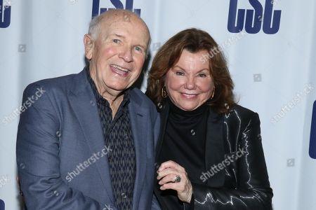 Stock Photo of Terrence McNally and Marsha Mason