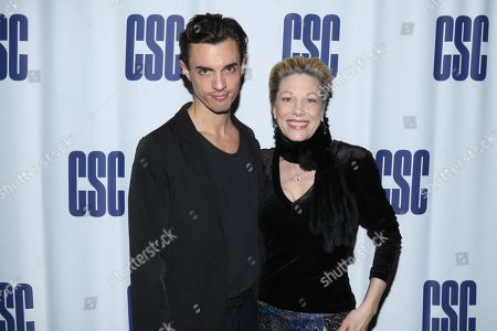 Stock Image of James Cusati-Moyer and Marin Mazzie