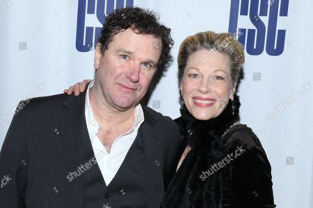 Stock Photo of Douglas Hodge and Marin Mazzie