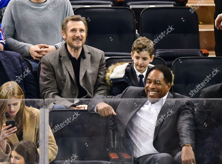 Liam Neeson and Dave Winfield