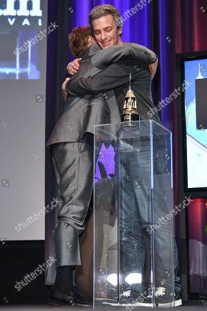 Stock Image of Willem Dafoe and Josh Boone