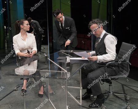 Hayley Atwell as Jenny, Tom Riley as Seth, Aidan McArdle as Rick