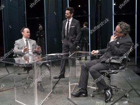 Joseph Balderrama as Jeff, Tom Riley as Seth, Aidan McArdle as Rick
