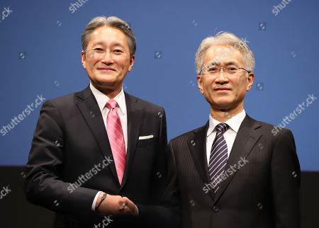 Editorial picture of Sony management press conference, Tokyo, Japan - 02 Feb 2018