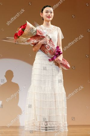 Editorial picture of Elan d'Or Award Ceremony, Tokyo, Japan - 01 Feb 2018