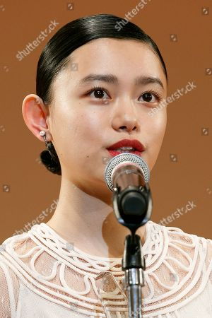 Japanese actress Hana Sugisaki speaks