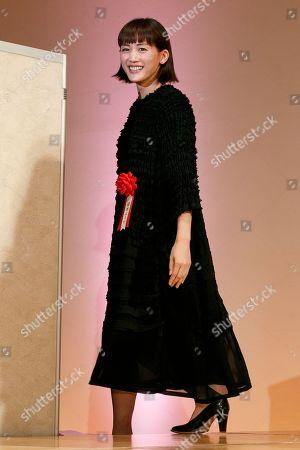 Japanese actress Haruka Ayase