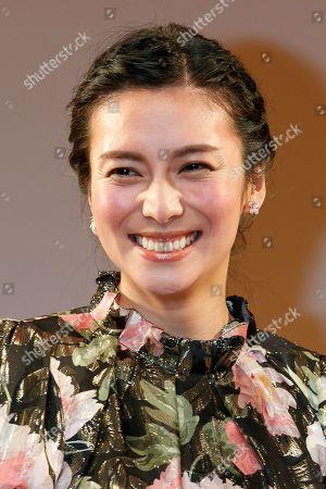 Stock Picture of Japanese actress Ko Shibasaki