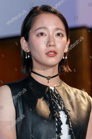Japanese actress Riho Yoshioka