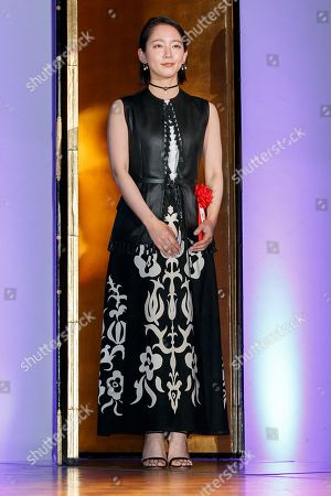 Stock Image of Japanese actress Riho Yoshioka